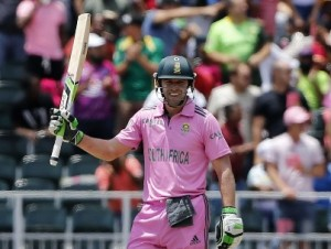 AB de Villiers smashed fastest ODI hundred